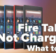 Kindle fire not charging