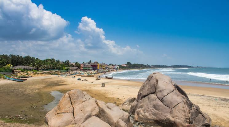 beach of Mahabalipuram