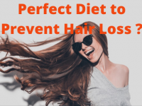 Perfect Diet to Prevent Hair Loss